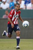Rodolfo Espinoza in action during the game