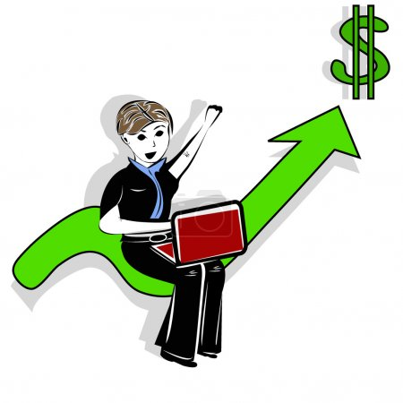 Freelance and broker business concept.