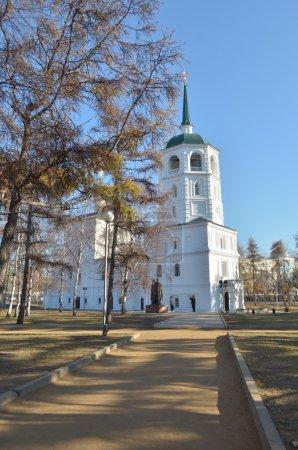 The Holy Savior image church Irkutsk