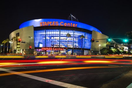 Los Angeles, USA - September 14: Los Angeles Staples Center in LA