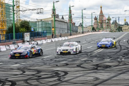 DTM Racing series in Moscow City Racing