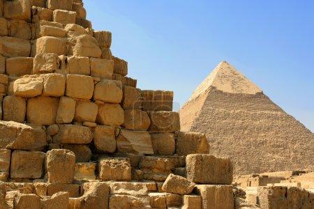 Photo pour Pyramide égyptienne sur fond de ciel - image libre de droit