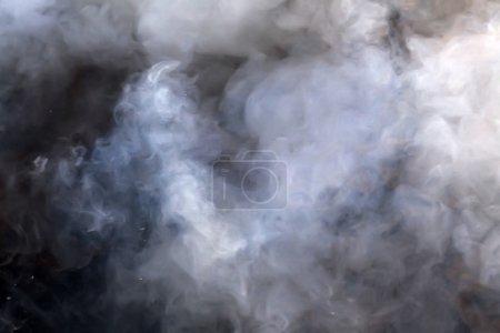 Photo pour Fond de fumée abstrait - image libre de droit