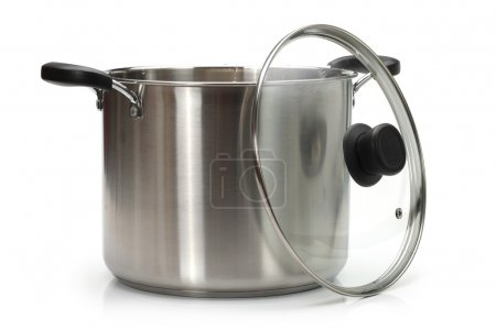 Photo for Cooking Pot on White Background - Royalty Free Image