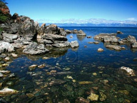 View of Lake Baikal Ushkaniye