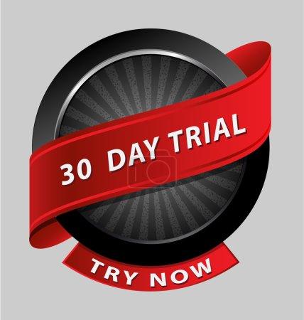 30 days trial design element