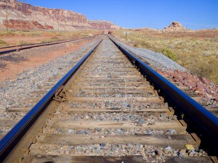 Canyon Traintracks
