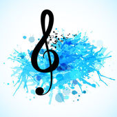 Various music notes background