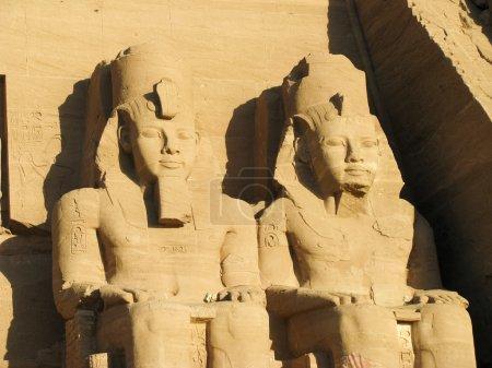 Photo pour Abou simbel chefs, Egypte, Afrique - image libre de droit