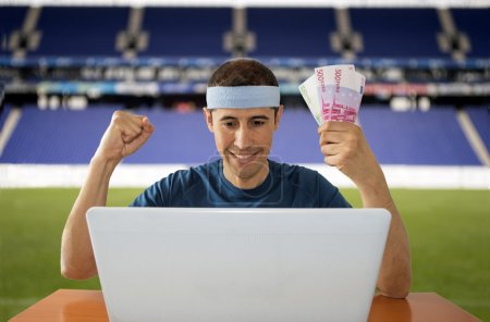 online betting gaining euros in stadium