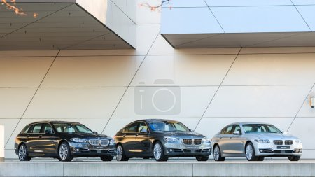 New entire model line of powerful BMW 535 family and business cl