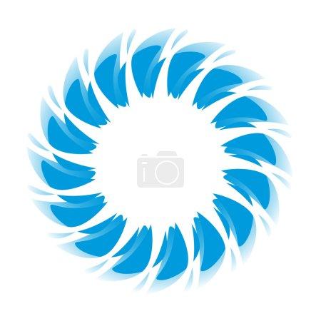 blue wave round