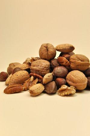 Healthy Food - Nuts (vertical)