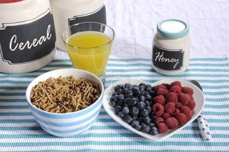 Healthy Diet High Dietary Fiber Breakfast