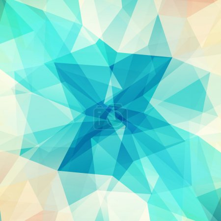 Illustration for Abstract geometric background with triangular polygons. - Royalty Free Image