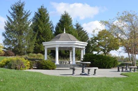 Beautiful Gazebo in a pretty landscaped park