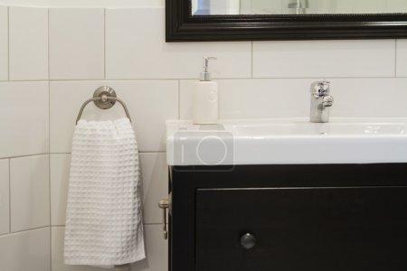 Contemporary bathroom basin