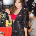 Постер, плакат: An unidentified Presenter pose in Thailand Game Show BIG Festiva