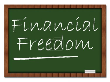 Financial Freedom - Classroom Board