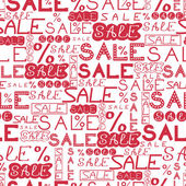 Sale seamless pattern background