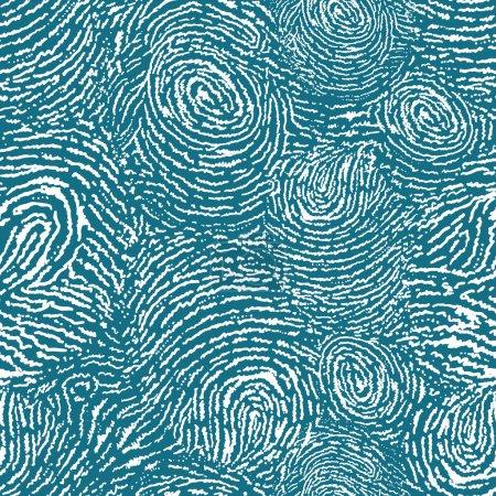 Finger print texture seamless pattern background