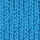 Vector knit sewater fabric seamless pattern texture with hand drawn elements