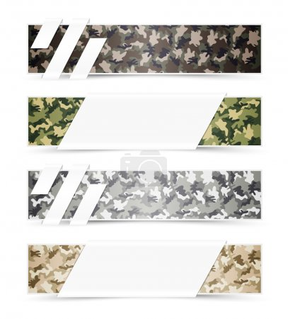 Camouflage Web Banners
