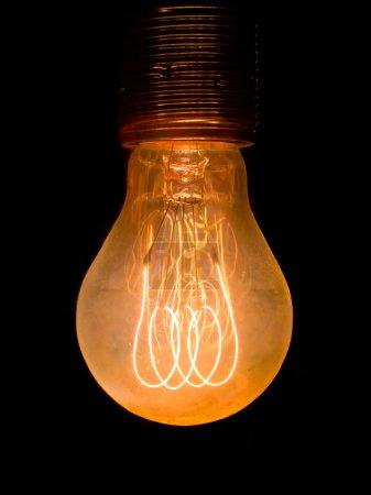 Old dusty light bulb