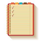 Notebook Flat design