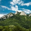 View to Three Crowns Massif in Pieniny National Pa...