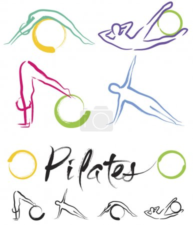 Illustration - Pilates Classe