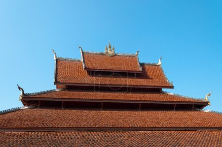 Roof of Temple. Luang Prabang. Laos