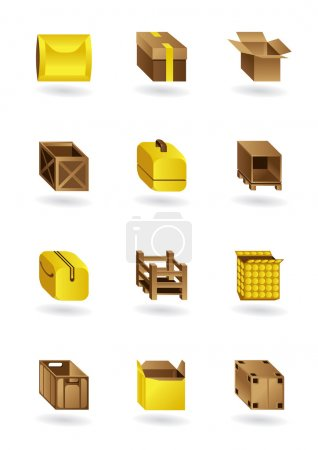 Package icons set