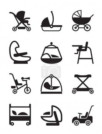 Children and baby accessories