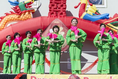 Orlando Florida USA - Chinese New Year February 9, 2014