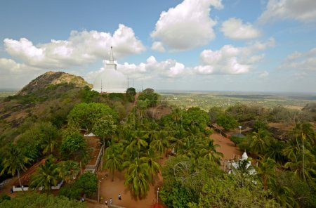 Panoramic view of Mihintale