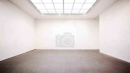 Photo for Empty room at gallery - Royalty Free Image