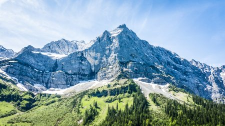 Photo for Karwendel mountains in summer - austria - Royalty Free Image