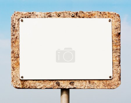Photo for Blank sign - Royalty Free Image
