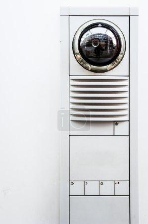 Moderne Überwachungskamera