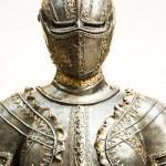 Beautiful antique suit of armor...