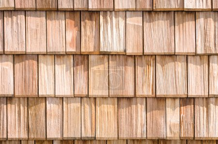 small wooden shingles