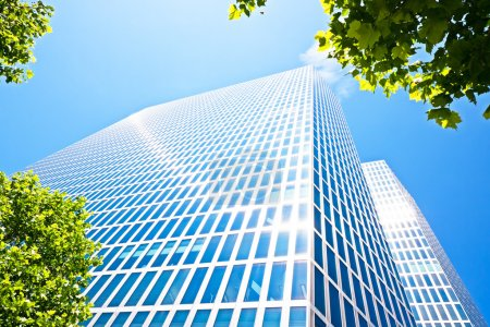 Photo for Modern office building in berlin - germany - Royalty Free Image