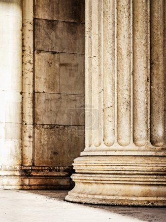 Photo for Beautiful old columns - closeup - Royalty Free Image