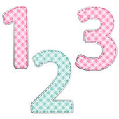 Gingham fabric numbers