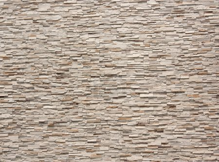 Photo for Pattern of Modern Brick Wall Surface stone wall tiles. - Royalty Free Image