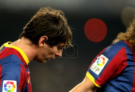 Messi of Barcelona during a