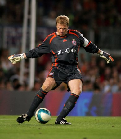 Oliver Kahn of Bayern Munich