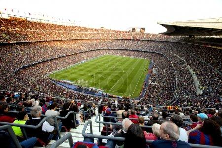 FC Barcelona stadium, Camp Nou