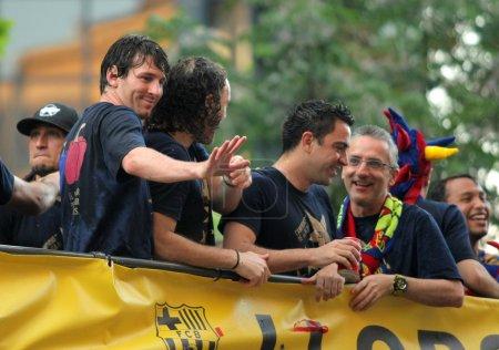 Leo MessiL Gabi MilitoC y
